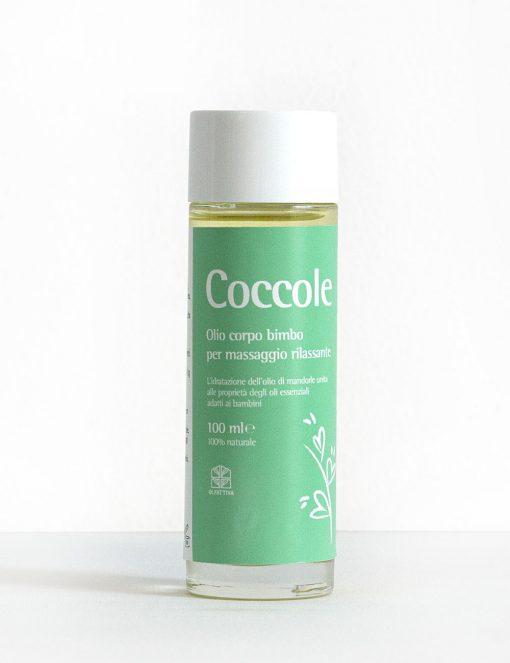 olio massaggio coccole
