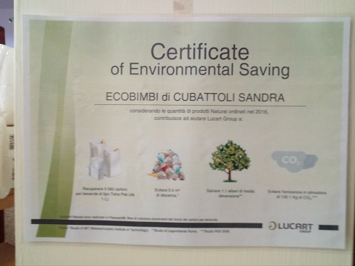 carta riciclata cert